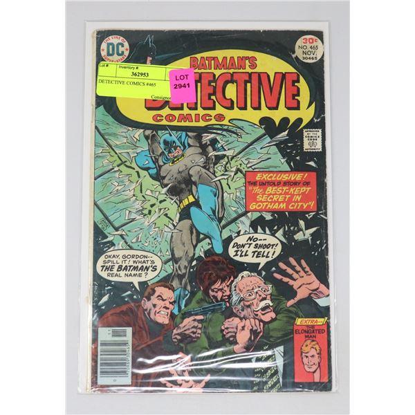 DETECTIVE COMICS #465