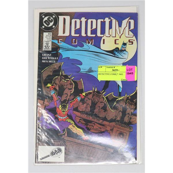 DETECTIVE COMICS #603