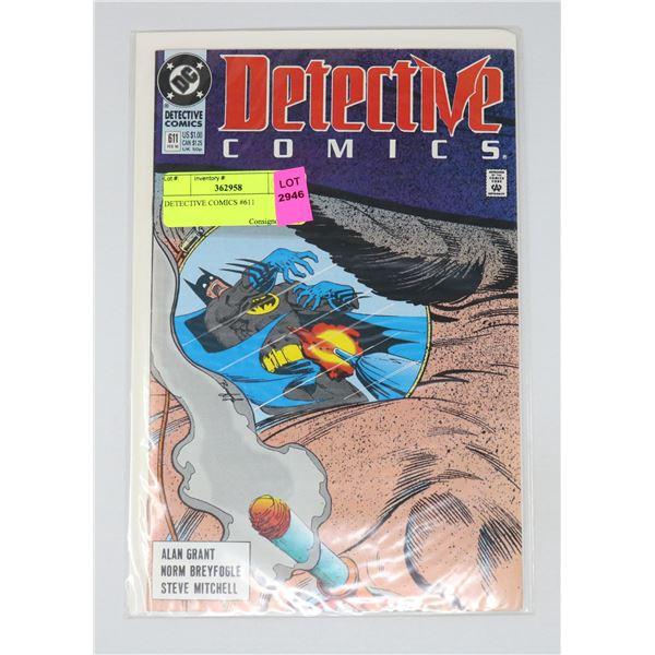 DETECTIVE COMICS #611