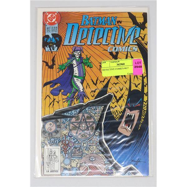 DETECTIVE COMICS #617