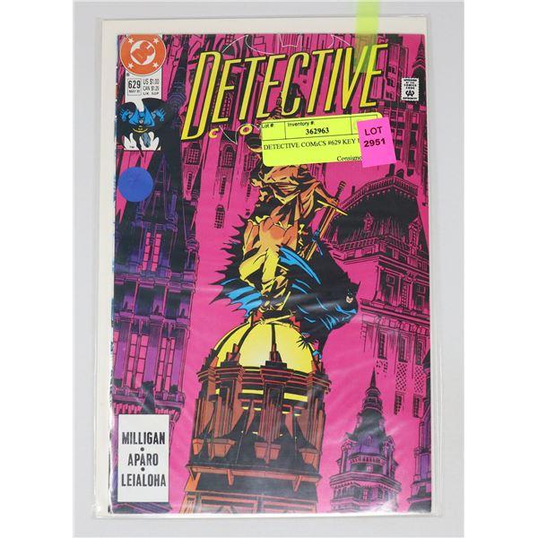 DETECTIVE COMICS #629 KEY ISSUE