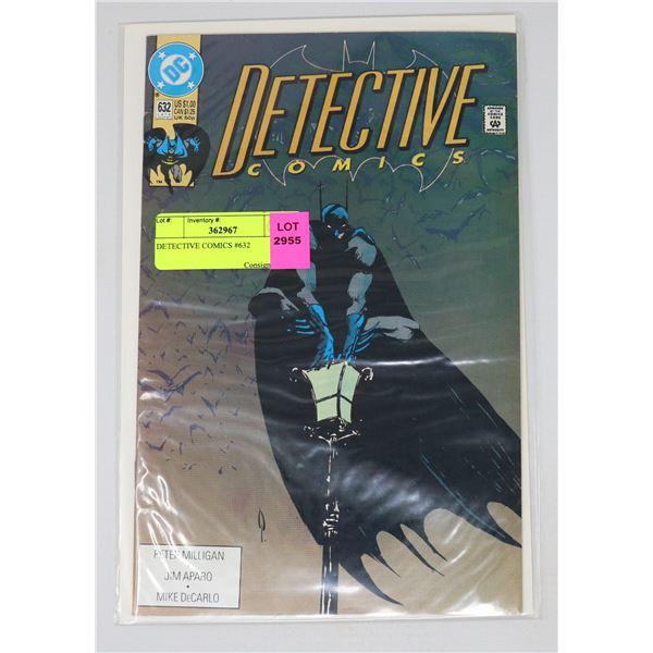 DETECTIVE COMICS #632