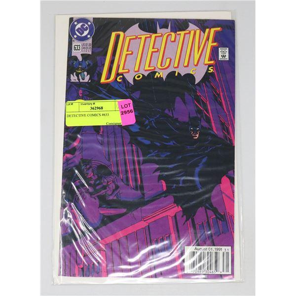 DETECTIVE COMICS #633