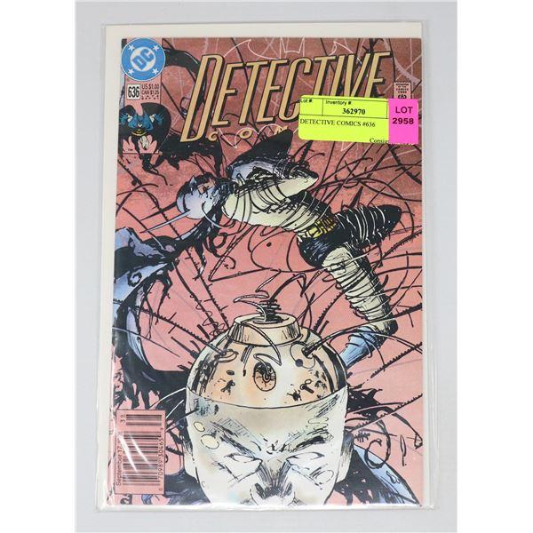 DETECTIVE COMICS #636