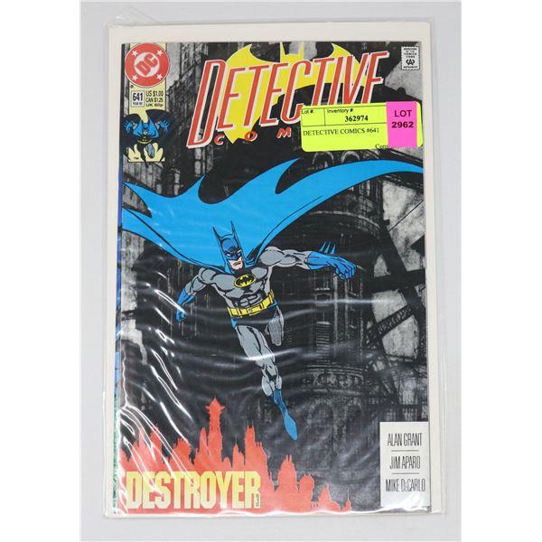 DETECTIVE COMICS #641