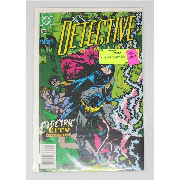 DETECTIVE COMICS #646