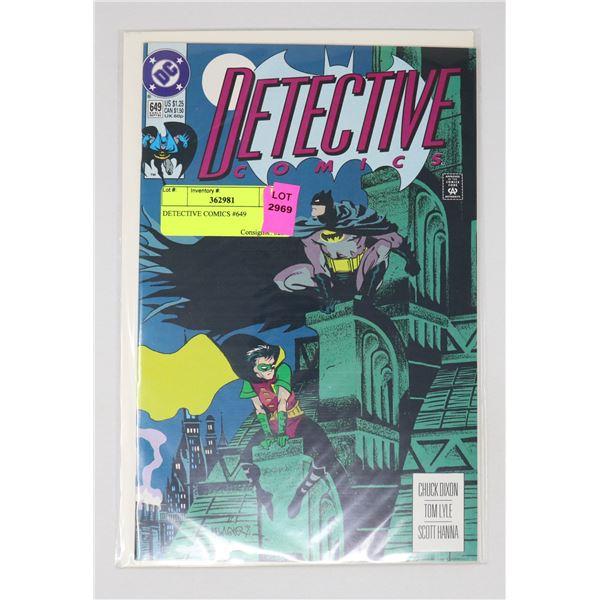 DETECTIVE COMICS #649