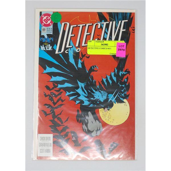 DETECTIVE COMICS #651