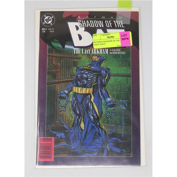 BATMAN SHADOW OF THE BAT 3 OF 4 KEY ISSUE
