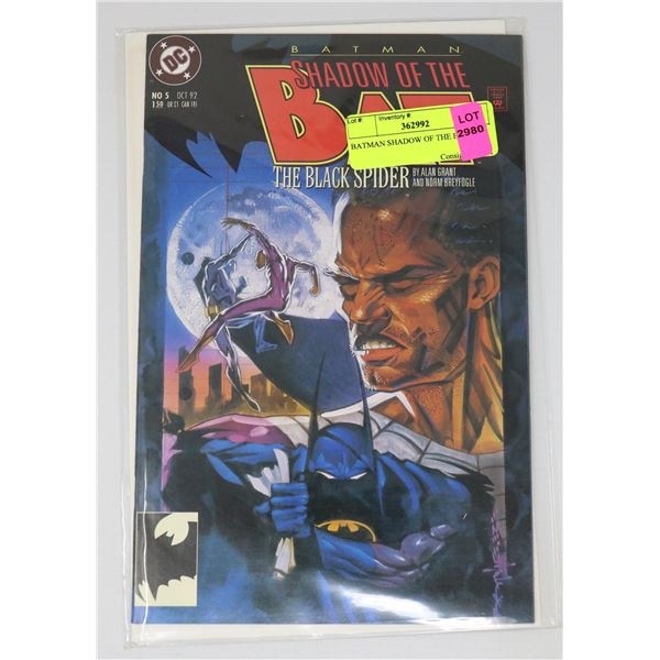 BATMAN SHADOW OF THE BAT 5
