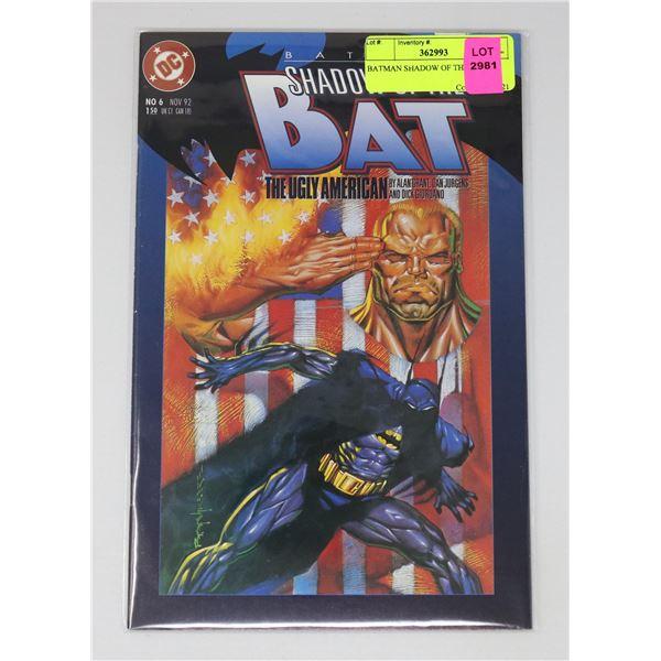 BATMAN SHADOW OF THE BAT 6