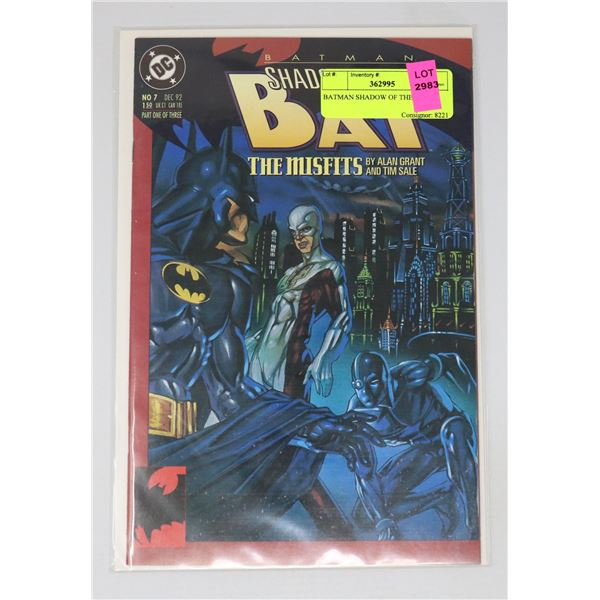 BATMAN SHADOW OF THE BAT 7