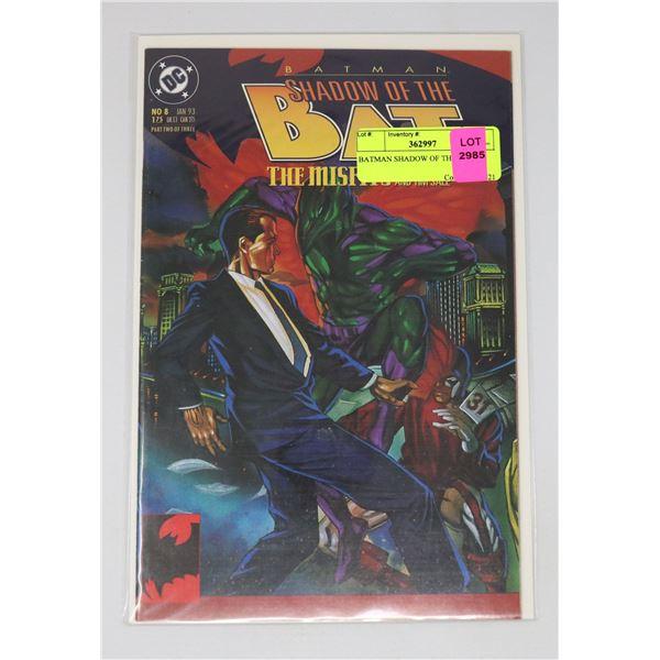 BATMAN SHADOW OF THE BAT 8