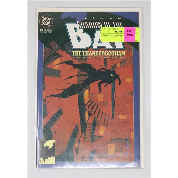 BATMAN SHADOW OF THE BAT 10