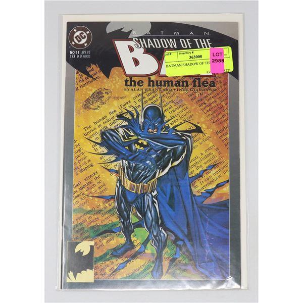 BATMAN SHADOW OF THE BAT 11