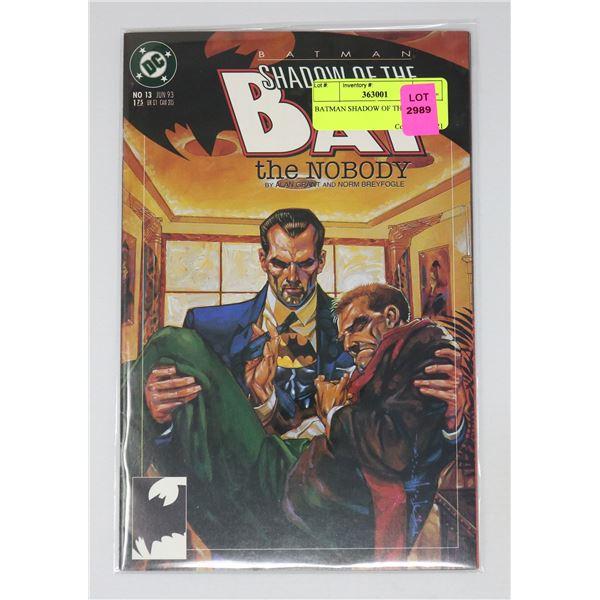 BATMAN SHADOW OF THE BAT 13