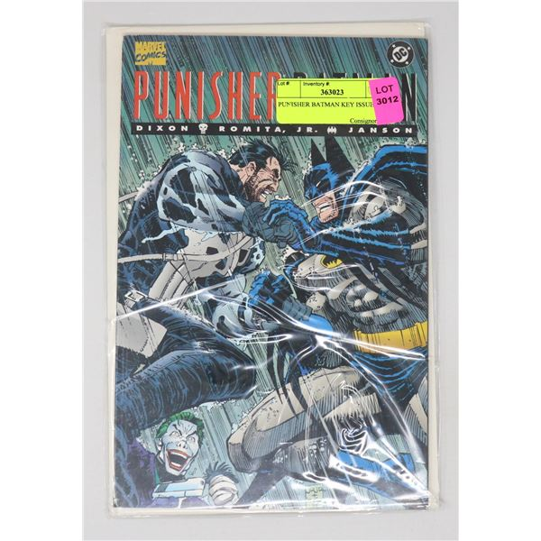 PUNISHER BATMAN KEY ISSUE $$$$$