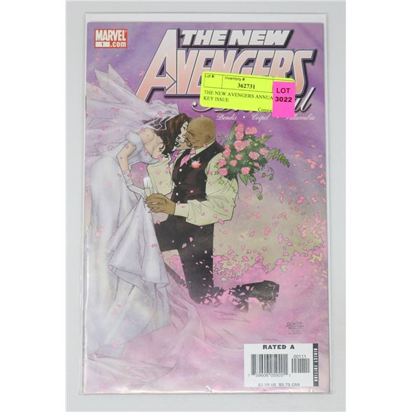 THE NEW AVENGERS ANNUAL #1 KEY ISSUE