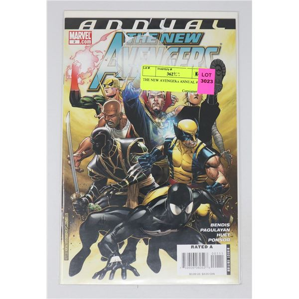THE NEW AVENGERS ANNUAL #2