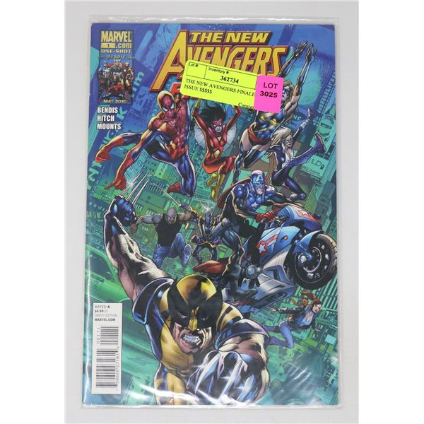 THE NEW AVENGERS FINALE #1 KEY ISSUE $$$$$