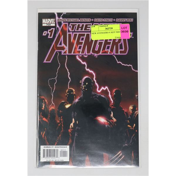 NEW AVENGERS #1 KEY ISSUE