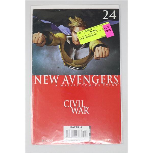 NEW AVENGERS #24