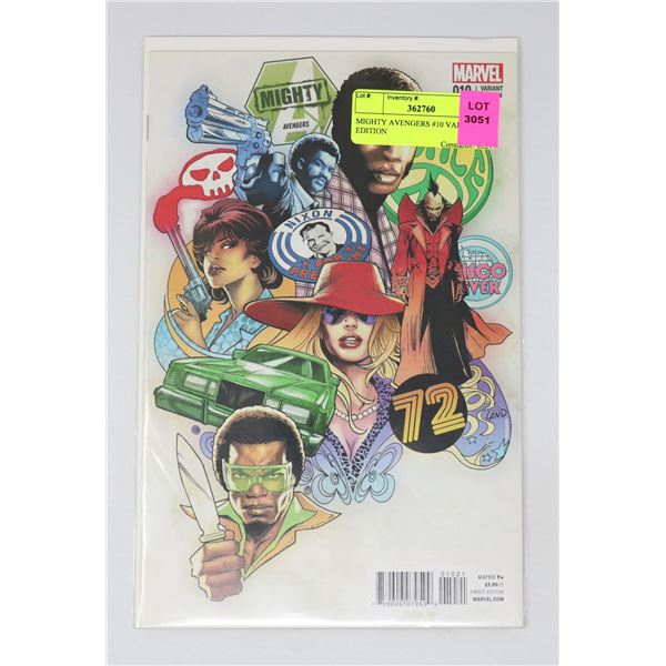 MIGHTY AVENGERS #10 VARIANT EDITION