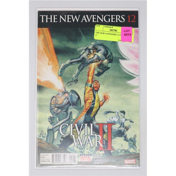 THE NEW AVENGERS 12 CIVIL WAR 11