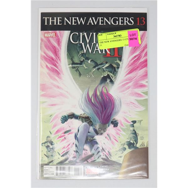 THE NEW AVENGERS 13 CIVIL WAR 11