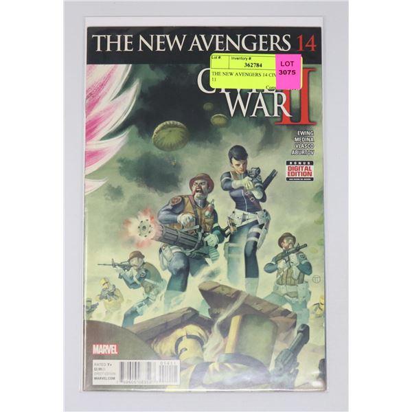 THE NEW AVENGERS 14 CIVIL WAR 11
