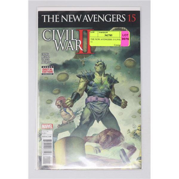 THE NEW AVENGERS 15 CIVIL WAR 11