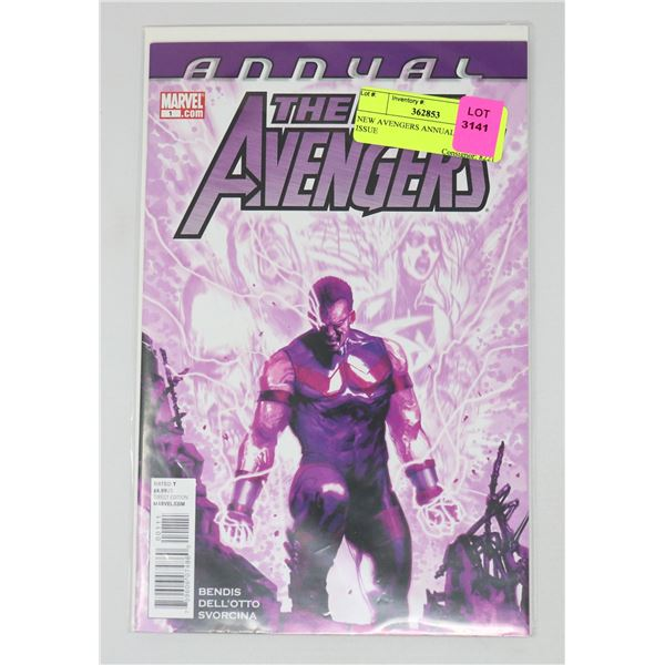 NEW AVENGERS ANNUAL #1 KEY ISSUE