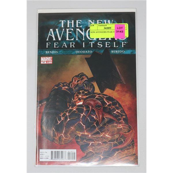 NEW AVENGERS FEAR ITSELF #14
