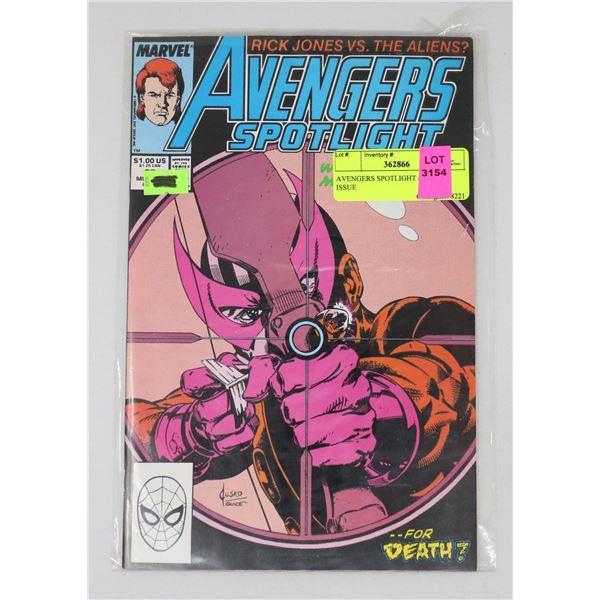 AVENGERS SPOTLIGHT #25 KEY ISSUE