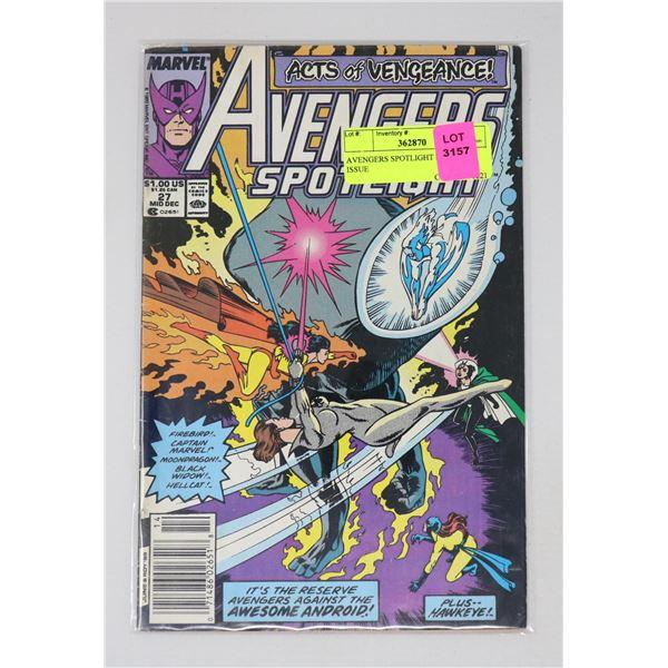 AVENGERS SPOTLIGHT #27 KEY ISSUE