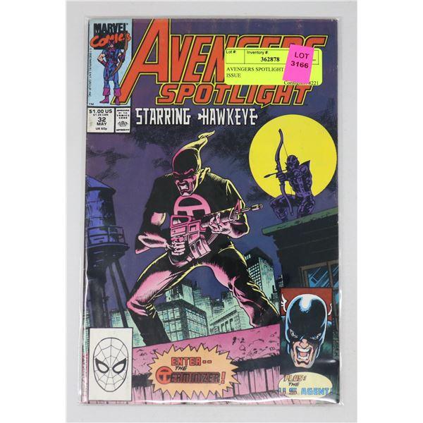 AVENGERS SPOTLIGHT #32 KEY ISSUE