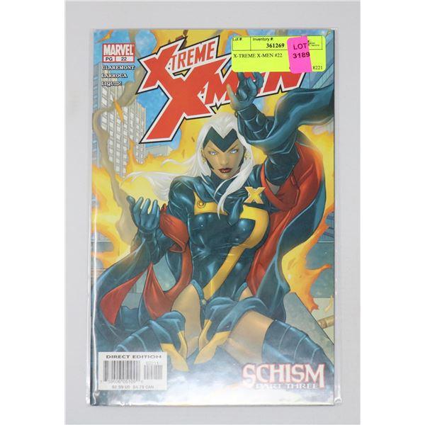 X-TREME X-MEN #22
