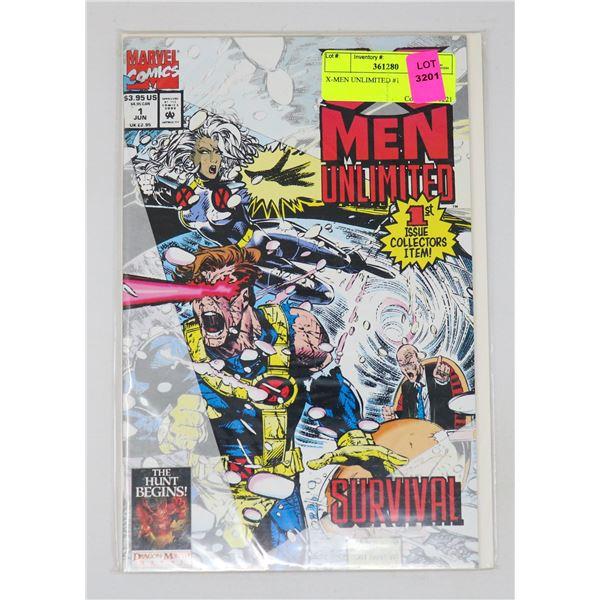 X-MEN UNLIMITED #1