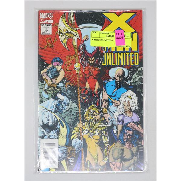 X-MEN UNLIMITED #5