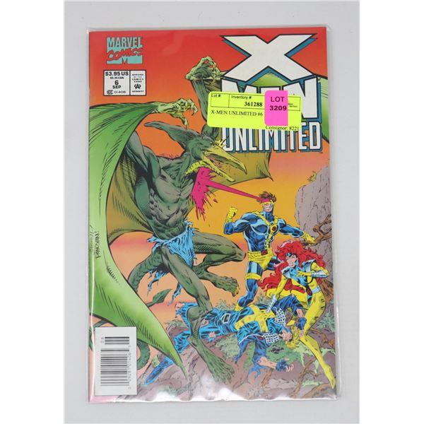 X-MEN UNLIMITED #6