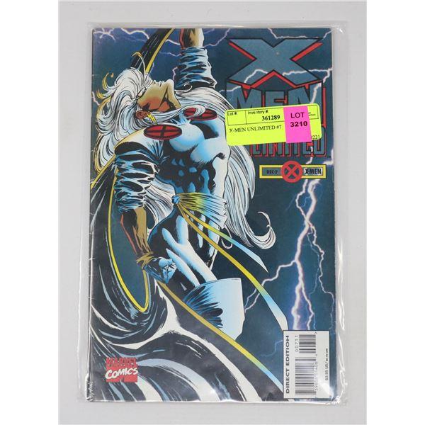 X-MEN UNLIMITED #7