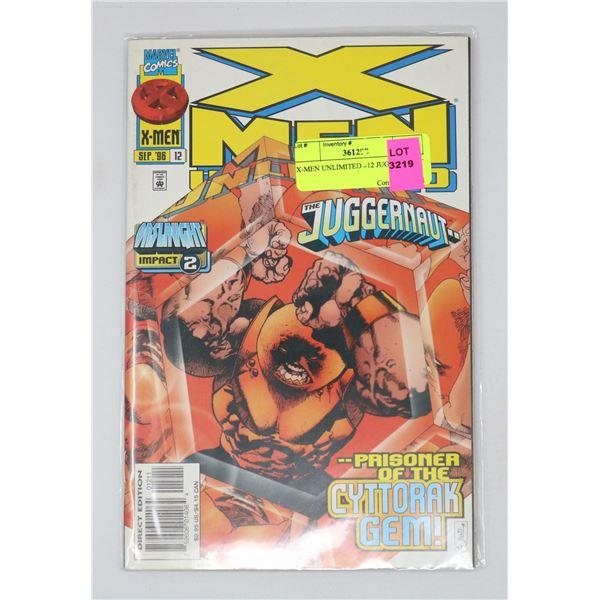 X-MEN UNLIMITED #12 JUGGERNAUT