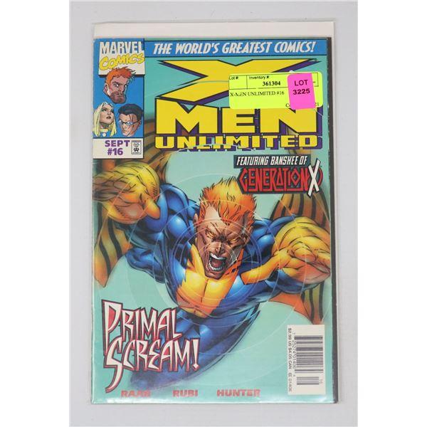 X-MEN UNLIMITED #16