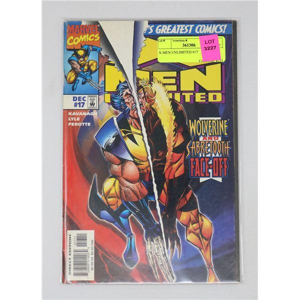 X-MEN UNLIMITED #17