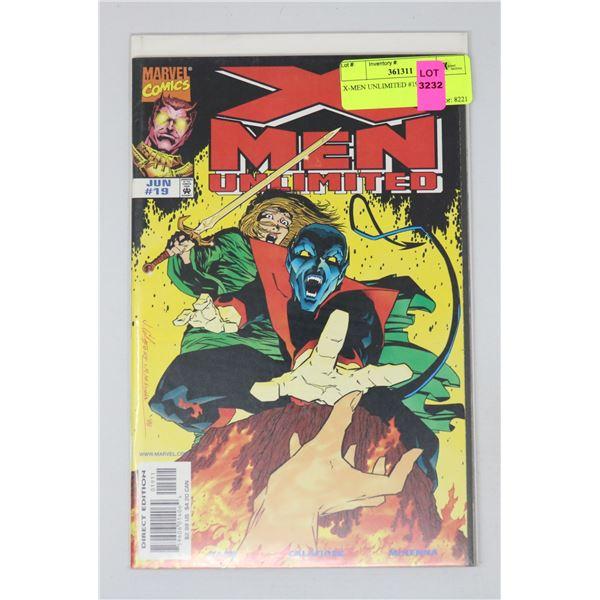 X-MEN UNLIMITED #19