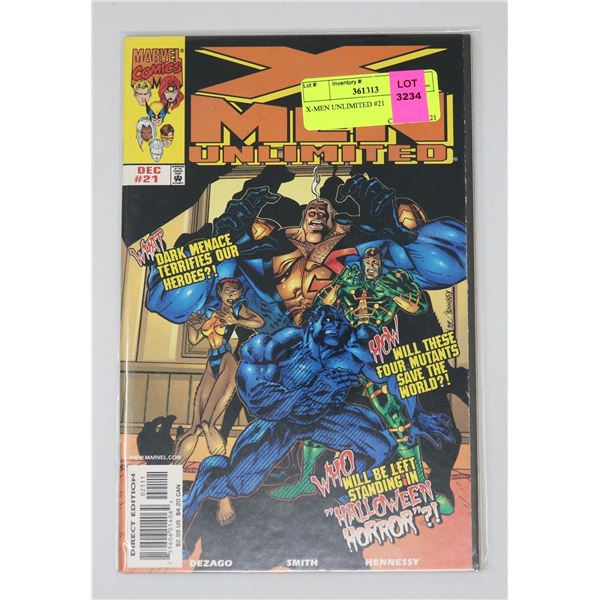 X-MEN UNLIMITED #21