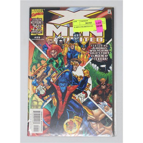 X-MEN UNLIMITED #25