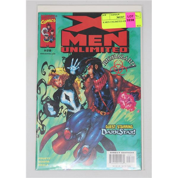 X-MEN UNLIMITED #28
