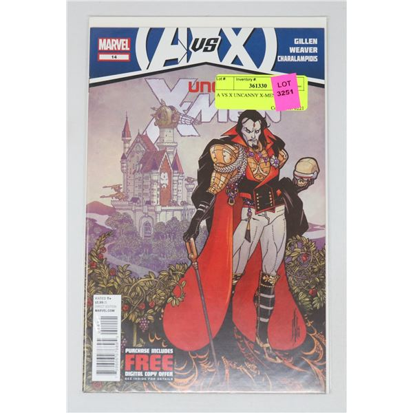 A VS X UNCANNY X-MEN #14