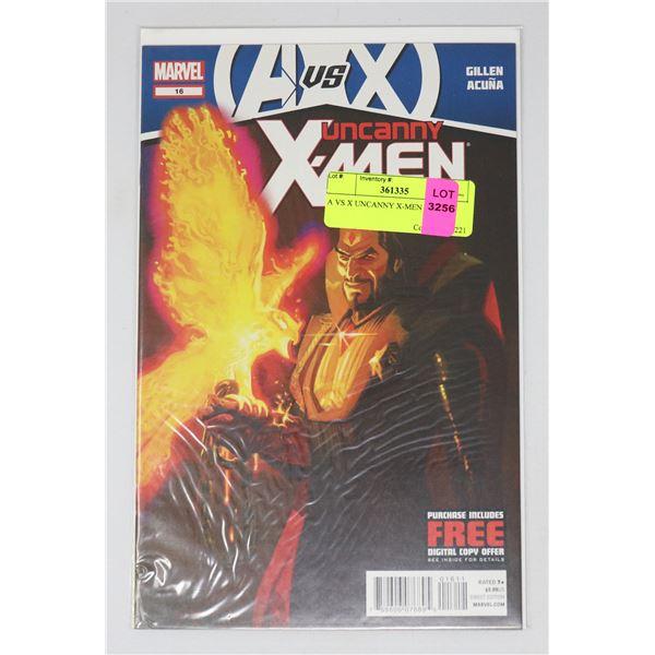 A VS X UNCANNY X-MEN #16